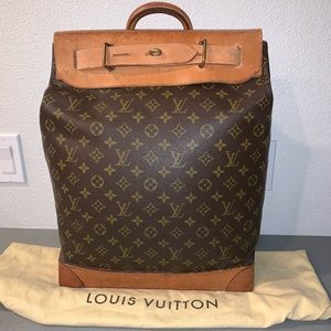 Authentic Louis Vuitton steamer bag 35 travel tote